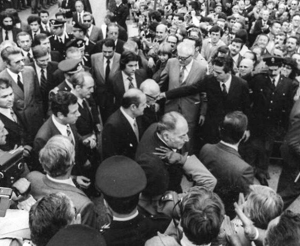 Commemorazione dell'Eccidio di Marzabotto 1979 - Pertini