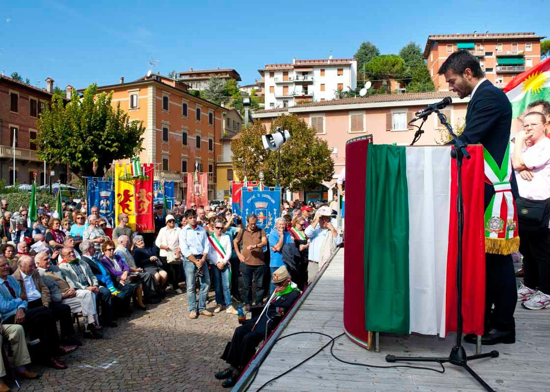 Commemorazione dell'Eccidio di Marzabotto 2012 - Massimo Zedda - Sindaco di Cagliari