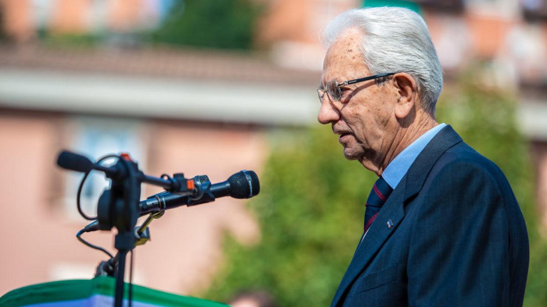Commemorazione dell'Eccidio di Marzabotto 2014 - Carlo Smuraglia - Presidente Nazionale ANPI